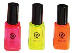 Nail Polish Highlighters - 3 Count - Yellow, Orange and Pink