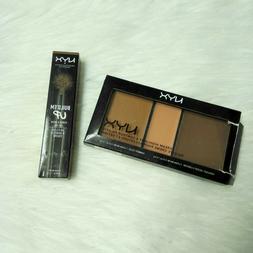 New NYX Cream Highlight & Contour Palette, CHCP03 Deep and P