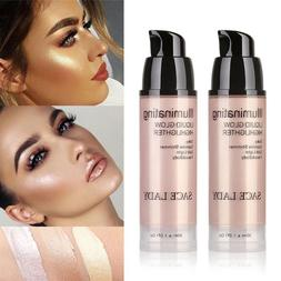 NEW  Liquid Highlighter Makeup Shimmer Face Illuminator Oil