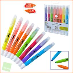 Non-Bleed Gel Bible Highlighter Markers for Tab Pack of 6