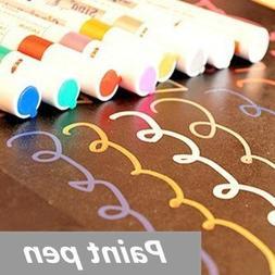 8 Pcs/lot Paint Pen Marker Highlighter Pen for Album Fhoto S
