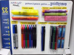 Papermate/Sharpie Writing Essentials Pack 32 Pcs Back to Sch