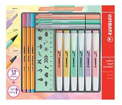 Stabilo Pastel Collection F52064 Set of 13 Mixed Boxes: 6 Sw