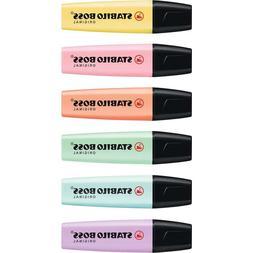 Stabilo Boss Original Pastel Color Highlighter Marker Pen -