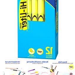 Avery Hi-Liter, Smear Safe Ink, Chisel Tip, Non-Toxic, 12 Pe