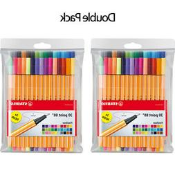 Stabilo Pens Item 8830-1 Point 88 Fine 30 Color Fineliner Fr