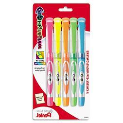 24/7 Highlighter, Chisel Tip, Blue/Green/Orange/Pink/Yellow