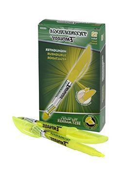Dixon Pocket Highlighter - Chisel Marker Point Style - Fluor