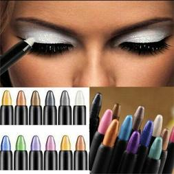 Pro Makeup Highlighter Eyeshadow Pencil Glitter Eye Shadow E