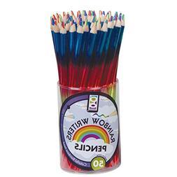 Raymond Geddes Rainbow Writer Pencil, 50 Pack