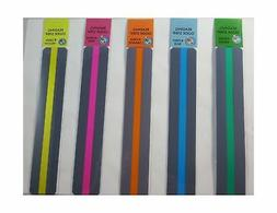 Reading Guide Highlighter Strips, Set of 5
