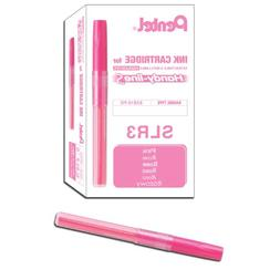 Pentel Refill for Handy-Line S Highlighter, Pink Ink, Box of