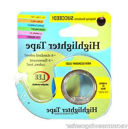 Removable Highlighter Tape 1/2in x 720in Fluorescent Blue