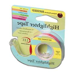 Lee Products Company Removable Highlighter Tape Pink