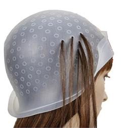 Chartsea Pro Salon Dye Silicone Cap with Hook Hair Salon Col