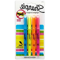 Sharpie 27174PP Pocket Highlighters, Smearguard Ink Technolo