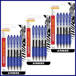 Sarasa Retractable Gel Ink Pens MEDIUM Point 0.7Mm BLUE Rapi