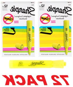 Sharpie School Office Yellow Highlighter Tank Style Chisel T