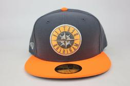 Seattle Mariners Gray / Highlighter Orange / Silver New Era