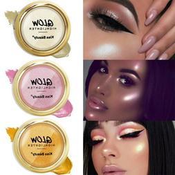 Shimmer Highlighter Powder Palette Face Contour Illuminator