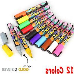 Soft Color 12pcs Full Set Highlighter Pens Marker ERASABLE N