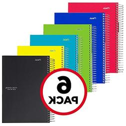 Five Star Spiral Notebooks, 1 Subject, 100 College Ruled She