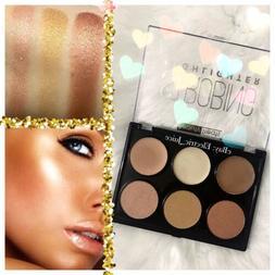 Beauty Treats Strobing Highlighter Palette B Cream Powder Fa