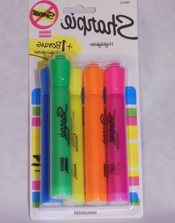 Sharpie Tank Highlighters - Chisel Tip - Assorted Colors 4 C