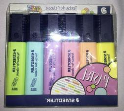 Staedtler Textsurfer Classic Pastel Highlighter Marker Pens