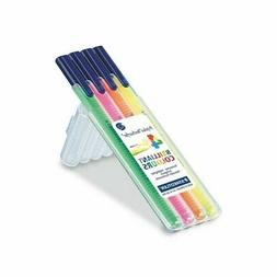 Staedtler Triplus Textsurfer Highlighter, 4 Color Set