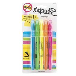 Value 5 Pack Sharpie Assorted Highlighters, Narrow Chisel Ti