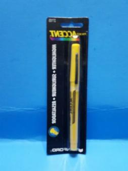 Vintage Pocket Accent Highlighter Yellow Sanford 1998 Nos Ne