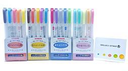Zebra Mildliner 20 Colors / WKT7-5C / WKT7-5C-NC / WKT7-5C-R