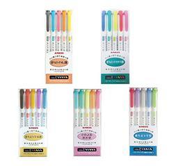 Zebra MildLiner Complete Set 25 Vibrant Colors Great for Tex