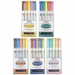 Zebra Mildliner highlighter pen set 25 Pastel Color set
