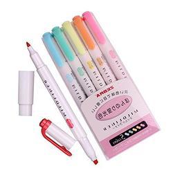 Zebra Mildliner Soft Color Double-Sided Highlighter Pens Dee
