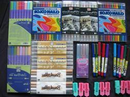 Zig Scrapbooking Markers 5 Lot Rainbow Vintage Sniff Highlig